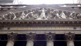 Paisajes urbanos de Wall Street New York Stock Exchange los E.E.U.U.