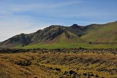 Paisajes volcánicos de Islandia Fotografía de archivo