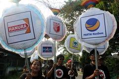 Paisiblement campagne en Indonésie Photos stock