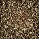 paisley безшовный Стоковое Изображение RF
