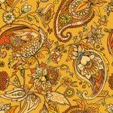 paisley Традиционная восточная картина в современном исполнении картина безшовная Стоковое Изображение