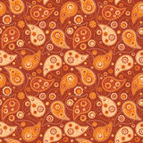 Paisley. Seamless paisley pattern in three colors Stock Photography