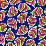 Paisley azjata tapetowy styl Obrazy Stock
