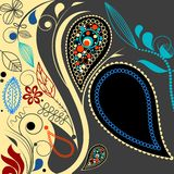 Paisley background Stock Photos