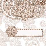 Paisley Background Stock Photography