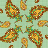 Paisley background Royalty Free Stock Images