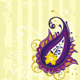 Paisley background Stock Images