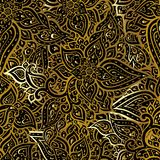 Paisley background. Hand Drawn ornament. Vector illustration Stock Photography