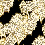 Paisley background. Hand Drawn ornament. Vector illustration Stock Photo