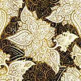 Paisley background. Hand Drawn ornament. Vector illustration Royalty Free Stock Image