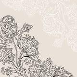 Hand Drawn Paisley ornament. Royalty Free Stock Image