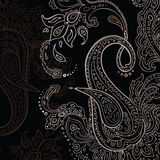 Paisley background. Hand Drawn ornament. Stock Photos