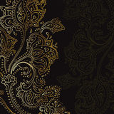 Paisley background. Hand Drawn ornament. Stock Photography
