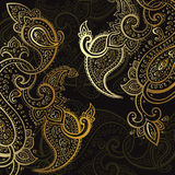 Paisley background. Hand Drawn ornament. Stock Image
