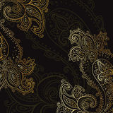 Paisley background. Hand Drawn ornament. Royalty Free Stock Images