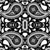 Paisley bakgrund Arkivfoton