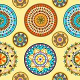 Paisley bakgrund Royaltyfri Bild