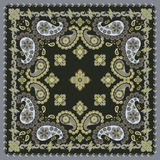 Paisley Bandana Design Royalty Free Stock Photography