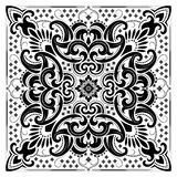Paisley Bandana print Stock Photography