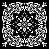Paisley Bandana print Stock Photos
