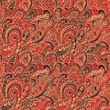 paisley bezszwowy deseniowy Fotografia Royalty Free