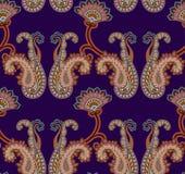 paisley bezszwowy deseniowy Zdjęcie Royalty Free