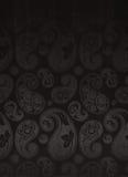 Paisley-Blumen-Muster nahtlos Lizenzfreie Stockfotos