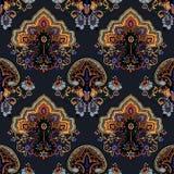 Paisley boho pattern Royalty Free Stock Photography