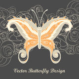 Paisley butterfly Stock Photography