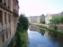 Paisley Canal Royalty Free Stock Images