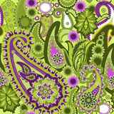 Paisley colorful background. Royalty Free Stock Photography