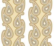 Paisley de luxe sans couture Images libres de droits