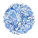 Paisley Decorative Pattern Stock Image