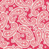 Paisley design. Seamless pattern- traditional paisley design Royalty Free Stock Photos