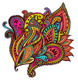 Paisley design. Colourful and vivid paisley design Stock Photography