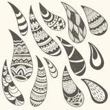 Paisley Design Elemenets Royalty Free Stock Image