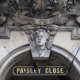 Paisley Dicht in Edinburgh Royalty-vrije Stock Fotografie