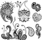 Paisley element Stock Image