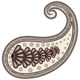 Paisley element decor. Stock Photo
