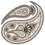 Paisley elements. stock photo