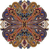 Paisley ethnic ornament. Royalty Free Stock Images