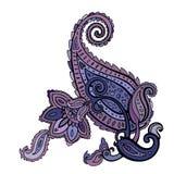 Paisley. Ethnic ornament. Vector illustration isolated. Paisley. Hand Drawn Boho ornament. Vector illustration Royalty Free Stock Photos
