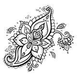 Paisley. Etnisk prydnad. vektor illustrationer