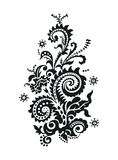 Paisley Floral Design Stock Images