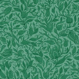 Paisley Flowers Design Elements Seamless Pattern Royalty Free Stock Photography