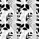 Paisley geométrico Textured Teste padrão sem emenda Fotos de Stock Royalty Free