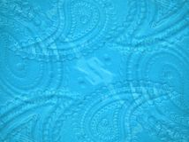 Paisley glass background Royalty Free Stock Photography