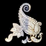 Paisley. Ethnic ornament. Vector illustration isolated. Paisley. Hand Drawn Boho ornament. Vector illustration Royalty Free Stock Photo