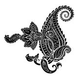 Paisley. Ethnic ornament. Vector illustration isolated. Paisley. Hand Drawn Boho ornament. Vector illustration Stock Photos