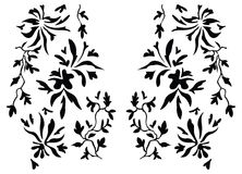 Paisley henna design fashion indian Royalty Free Stock Image